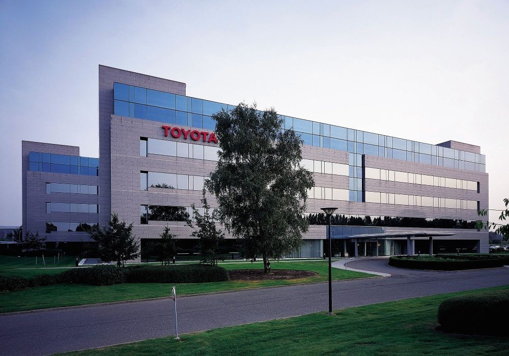 toyota motor europe office